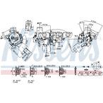 Turbosprężarka NISSENS 93193