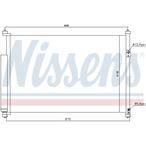 Chłodnica klimatyzacji - skraplacz NISSENS 940012