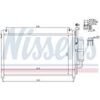 Chłodnica klimatyzacji - skraplacz NISSENS 940033