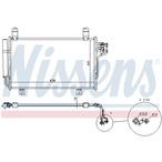 Chłodnica klimatyzacji - skraplacz NISSENS 940326