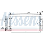 Chłodnica klimatyzacji - skraplacz NISSENS 940430