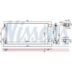 Chłodnica klimatyzacji - skraplacz NISSENS 940460