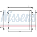 Chłodnica klimatyzacji - skraplacz NISSENS 940546