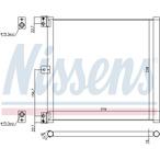 Chłodnica klimatyzacji - skraplacz NISSENS 940703