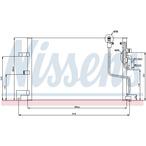Chłodnica klimatyzacji - skraplacz NISSENS 94259
