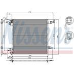 Chłodnica klimatyzacji - skraplacz NISSENS 94568