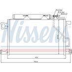 Chłodnica klimatyzacji - skraplacz NISSENS 94794