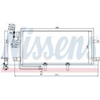 Chłodnica klimatyzacji - skraplacz NISSENS 94834