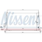 Chłodnica klimatyzacji - skraplacz NISSENS 94930