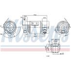 Osuszacz klimatyzacji NISSENS 95109