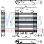 Chłodnica powietrza doładowującego - intercooler NISSENS 96366