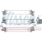 Chłodnica powietrza doładowującego - intercooler NISSENS 96625
