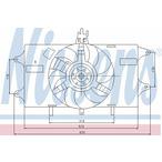 Wentylator chłodnicy silnika NISSENS 85127