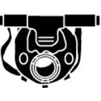 Uchwyt systemu wydechowego WALKER 80300