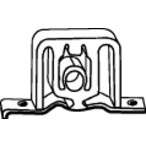Uchwyt systemu wydechowego WALKER 80358