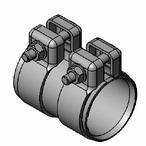 Obejma rury układu wydechowego WALKER 82130