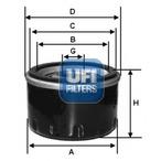 Filtr oleju UFI 23.129.02