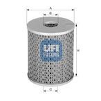 Filtr paliwa UFI 26.622.00