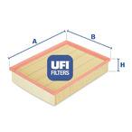 Filtr powietrza UFI 30.268.00