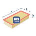 Filtr powietrza UFI 30.933.00