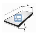 Filtr kabinowy UFI 53.155.00