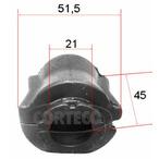 Guma drążka stabilizatora CORTECO 49371817