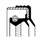 Pierscień uszczelniający wału skrzyni biegów CORTECO 49355681