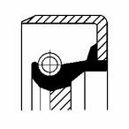 Pierscień uszczelniający wału korbowego CORTECO 12011457B