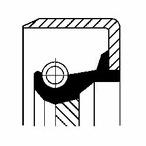 Pierscień uszczelniający wału korbowego CORTECO 49361889