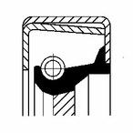 Pierscień uszczelniający wału skrzyni biegów CORTECO 12011394B
