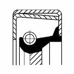 Pierscień uszczelniający wału skrzyni biegów CORTECO 01034112B