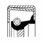 Pierscień uszczelniający wału skrzyni biegów CORTECO 12014346B