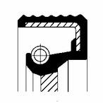 Pierscień uszczelniający wału skrzyni biegów CORTECO 01031612B
