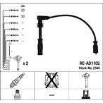 Przewody zapłonowe - zestaw NGK 2348