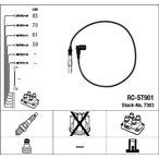 Przewody zapłonowe - zestaw NGK 7303