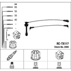 Przewody zapłonowe - zestaw NGK 2908