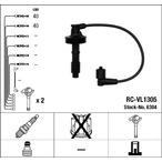 Przewody zapłonowe - zestaw NGK 6304