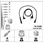 Przewody zapłonowe - zestaw NGK 8481