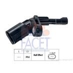 Czujnik prędkości obrotowej koła (ABS lub ESP) FACET 21.0009