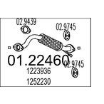 Rura wydechowa MTS 01.22460