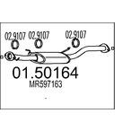 Tłumik środkowy MTS 01.50164