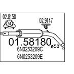 Tłumik środkowy MTS 01.58180