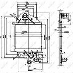 Chłodnica powietrza doładowującego - intercooler NRF 30865