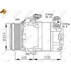 Kompresor klimatyzacji NRF 32080