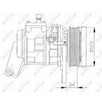 Kompresor klimatyzacji NRF 32092