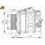 Kompresor klimatyzacji NRF 32216