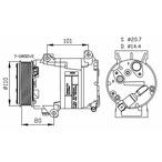 Kompresor klimatyzacji NRF 32252
