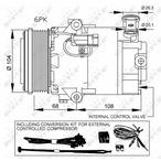 Kompresor klimatyzacji NRF 32428