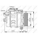 Kompresor klimatyzacji NRF 32435