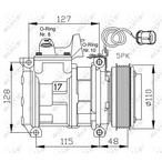 Kompresor klimatyzacji NRF 32464